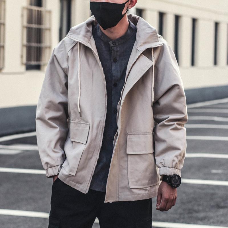 2019年春季新款工装夹克外套男