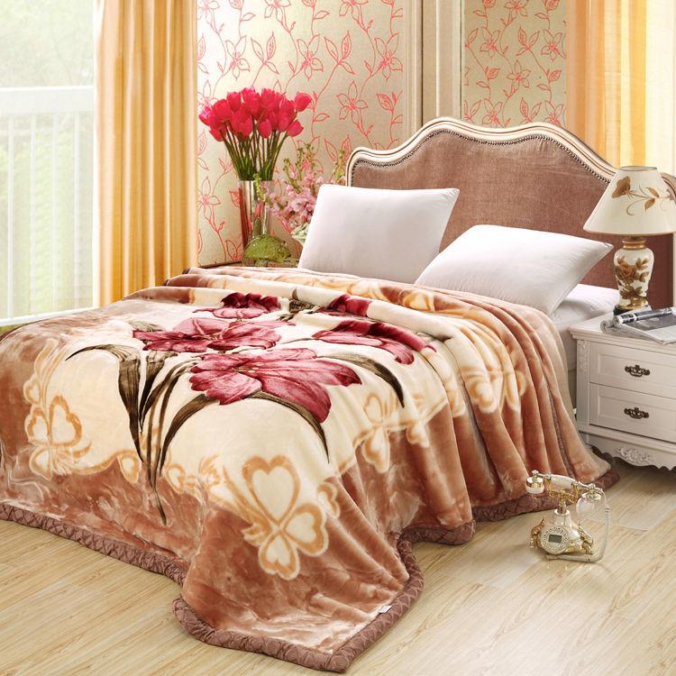 双层加厚毛毯春秋冬季盖毯