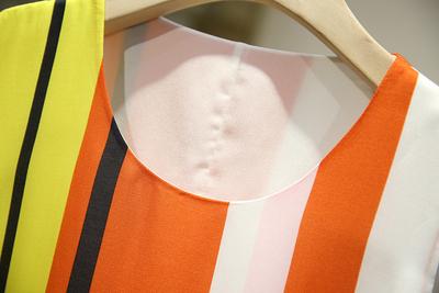 Bưu chính ~ [chim] nhấn màu hoang dã lỏng tay sọc váy lỏng thường bao gồm thịt lười biếng gió váy