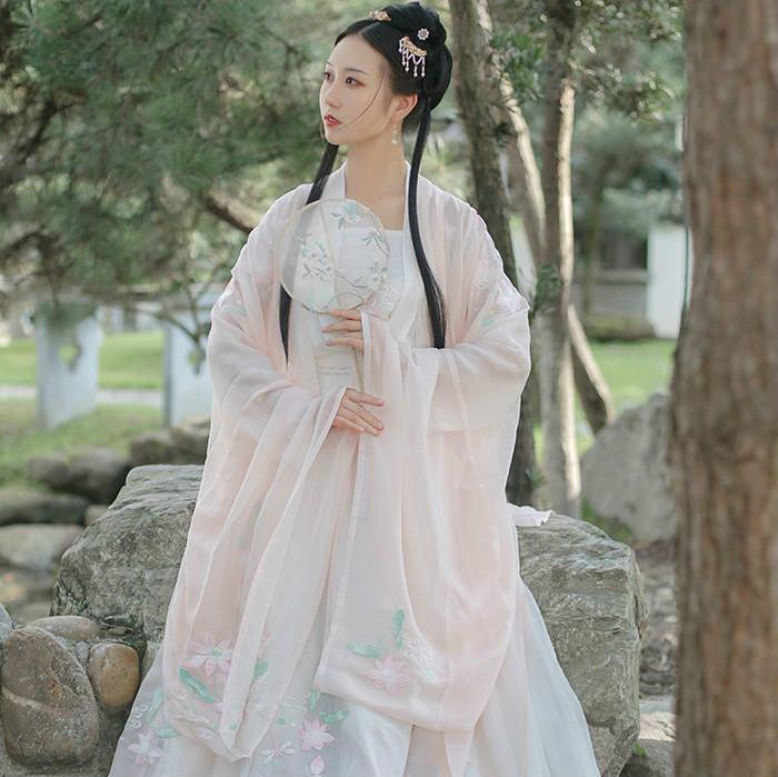 潇湘馆【初见】春夏新款正品原创汉服,穿戴好看,仙女飘飘