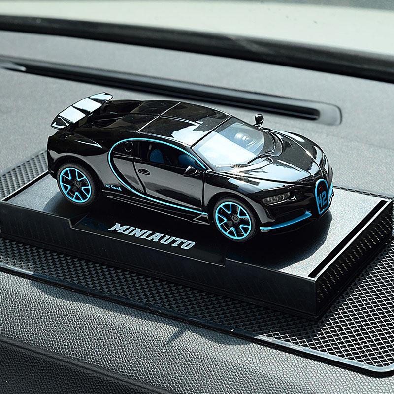 G65金属汽车摆件 创意跑车布加迪ae86车内饰品高档男莱肯车模型潮