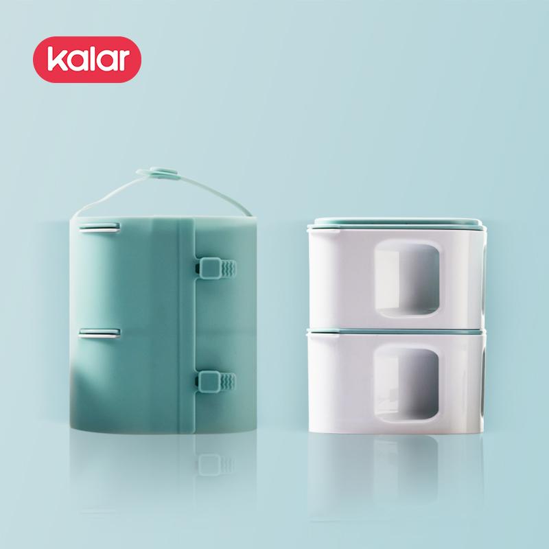 kalar日式多层分格创意便携饭盒