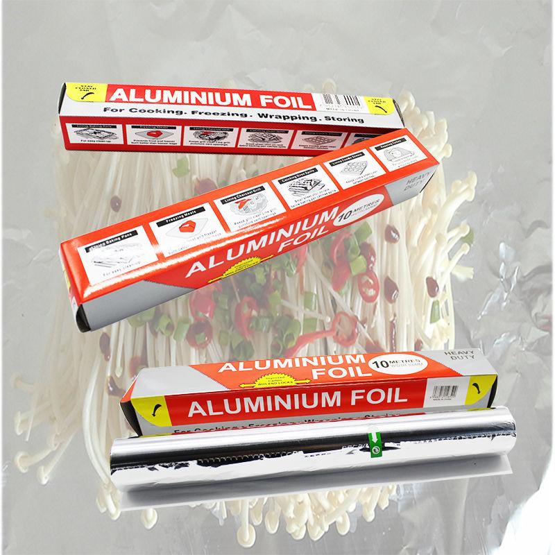 廚房加厚錫紙燒烤家用錫箔紙花甲粉烘焙烤肉烤魚烤紅薯鋁箔紙