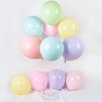 马卡龙色加厚亚光网红气球创意婚礼结婚房布置用品儿童节生日装饰
