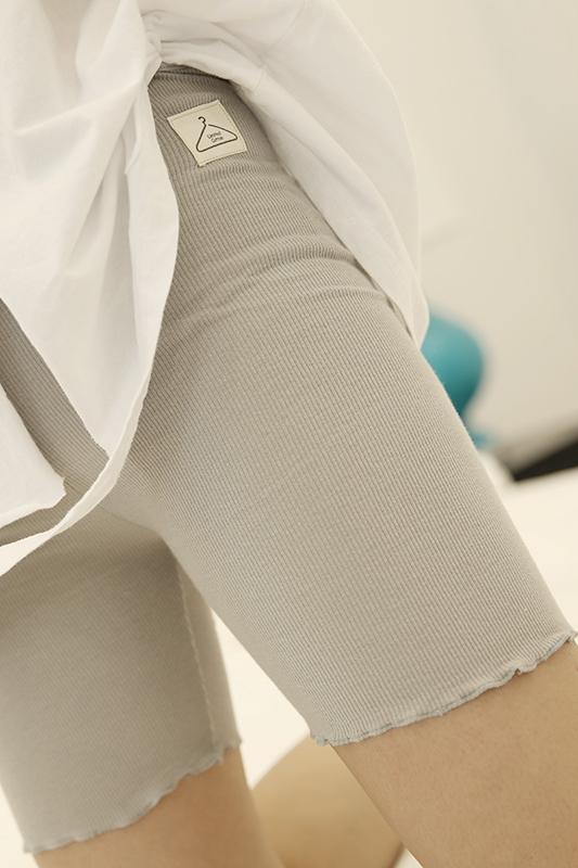 Mùa hè phần mỏng cao eo an toàn quần nữ bông mặc chống ánh sáng quần an toàn chất béo mm kích thước lớn ba điểm quần short quần short