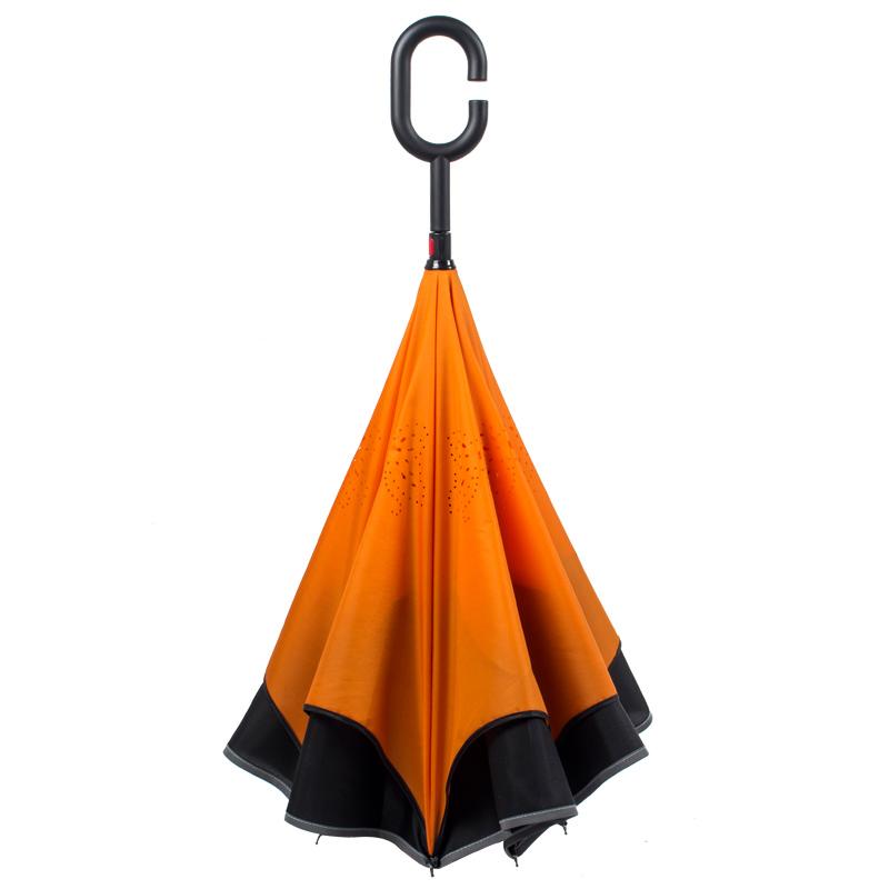 <font color='red'><b>雨伞</b></font>反向伞免持式德国防风创意