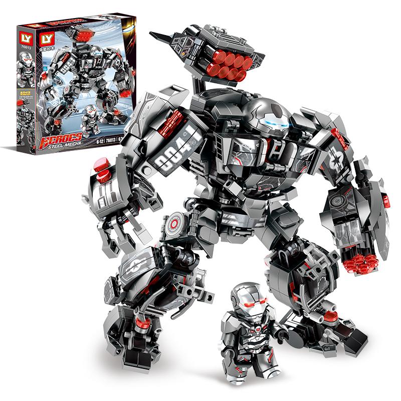 C乐宜76013漫威超级战争机器英雄玩具男孩益智拼装插儿童积木模型