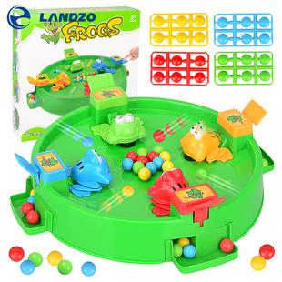 抖音同款儿童益智玩具青蛙吃豆盘