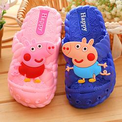 2~7岁儿童拖鞋夏女可爱小公主室内男浴室软底防滑中小童宝宝凉拖