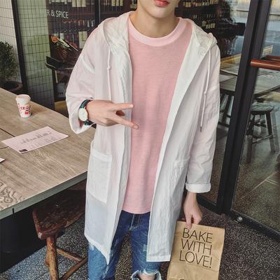 Sun bảo vệ quần áo nam dài áo gió áo khoác vài Hàn Quốc phiên bản của xu hướng lỏng siêu mỏng người đàn ông thở của mặt trời quần áo bảo hộ