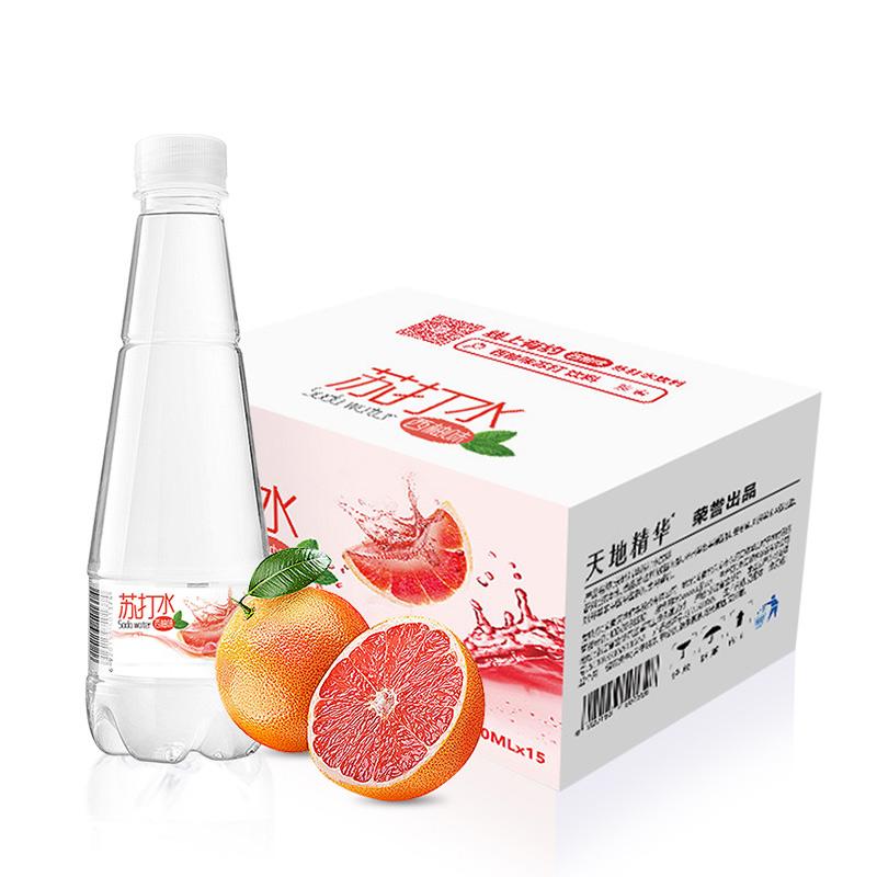 【天地精华】苏打水410ml*15瓶