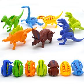 5颗大号变形恐龙蛋男孩玩具