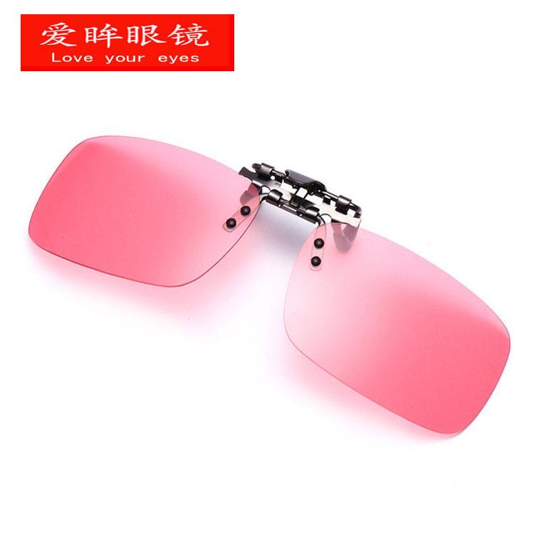正品专业钓鱼眼镜夹片 看漂 10倍高清垂钓近视专用轻便偏光太阳睛