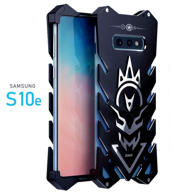 SIMON New THOR II Aviation Aluminum Alloy Shockproof Armor Metal Case Cover for Samsung Galaxy S10 & Samsung Galaxy S10e & Samsung Galaxy S10 Plus
