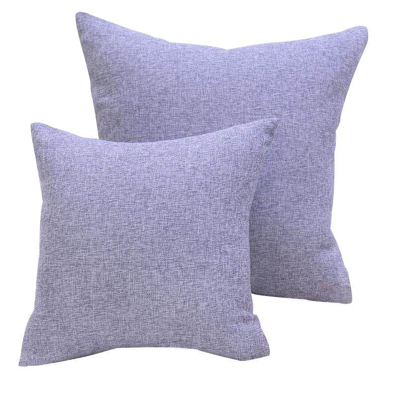 现代简约纯色抱枕沙发座椅靠垫办公室午睡枕车用腰靠床头大靠枕-给呗网
