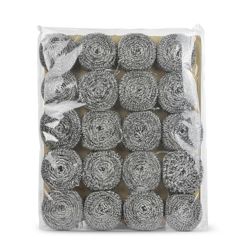 20个清洁球不锈钢钢丝球厨房清洁刷锅刷
