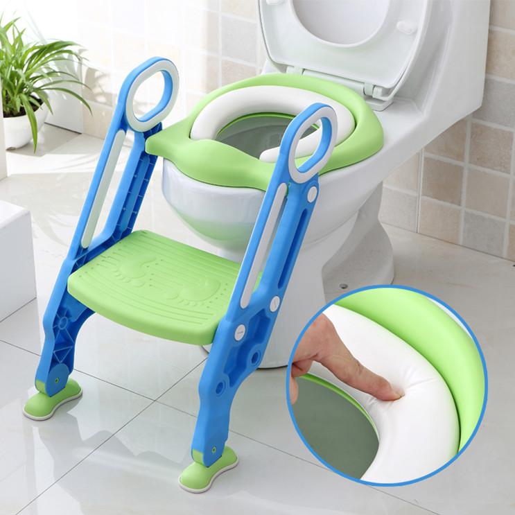 2-7岁宝宝坐便器 儿童马桶梯女孩楼梯式可折叠防滑