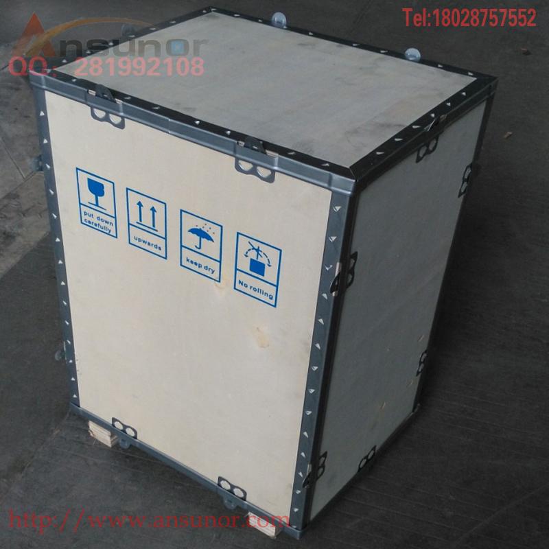 Tùy chỉnh xuất khẩu hộp gỗ lắp ráp hộp gỗ xe nâng hậu cần hộp chuyển phát nhanh Vận chuyển hàng không tùy chỉnh bao bì hộp gỗ - Cái hộp