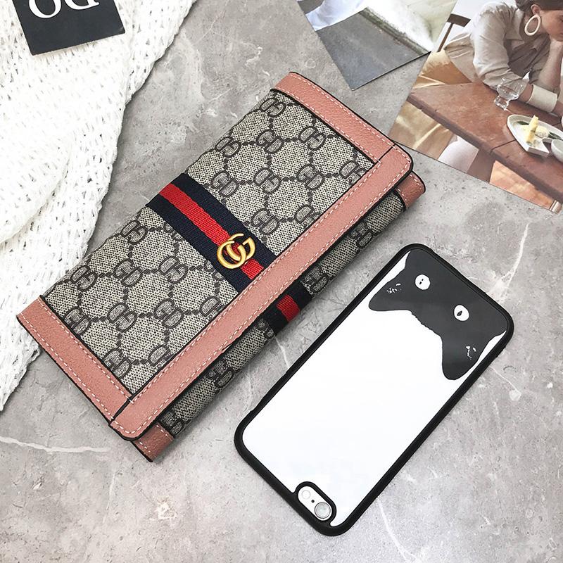 2018新款欧美大牌钱包女长款大容量手机时尚钱夹手拿包潮