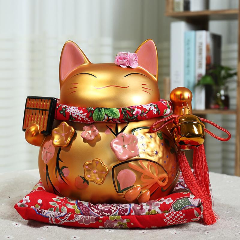 招财猫储蓄罐创意公桌摆件儿童钱罐优惠价5元销量1434件