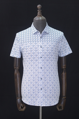 Nhãn hiệu cắt nhãn trơn tru và thoải mái mùa hè nam T-Shirt ve áo thời trang hoang dã thường lụa ngắn tay T-Shirt polo áo cotton nam Polo