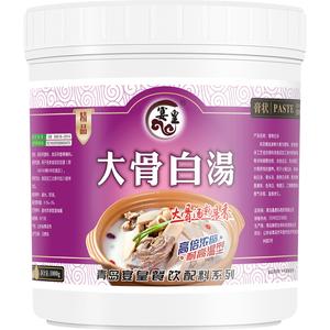 大骨白汤浓缩商用猪骨牛骨头汤米线调料浓汤宝增白增香羊骨高汤膏