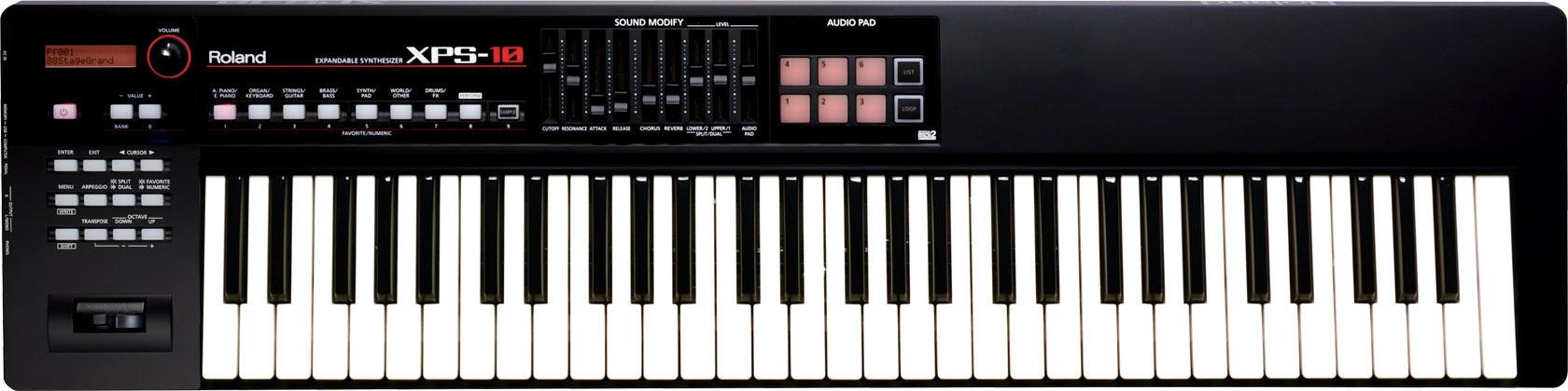 Roland Roland XPS-10 XPS10 có thể mở rộng 61-key tổng hợp điện tử bàn phím bàn phím