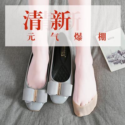 船袜女隐形袜套硅胶防滑超浅口纯棉底冰丝薄款高跟鞋袜夏季脚底袜