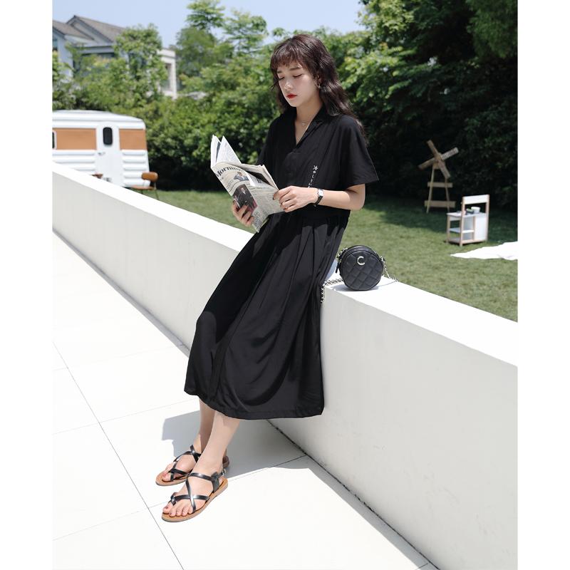 日文刺绣裙子