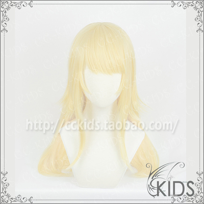 taobao agent CCKIDS [fate FGO] Dion White Lily Knight COSPLAY Wig Light Gold