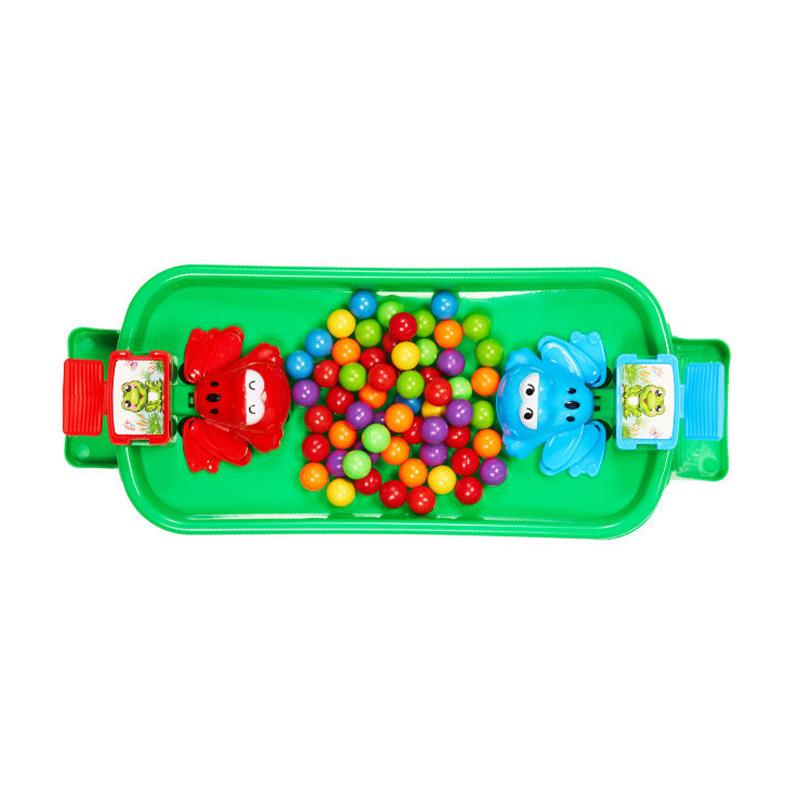 贪吃青蛙吃豆男女孩子礼物儿童亲子互动双人玩具多人桌面益智游戏