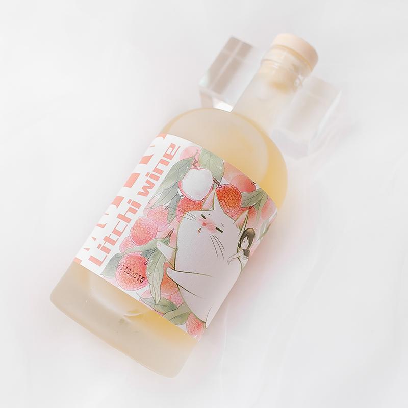 猫脱MOTTO酒馆微醺荔枝酒,新年情人节礼物