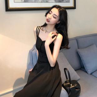【网红爆款】气质修身显瘦露肩性感长裙