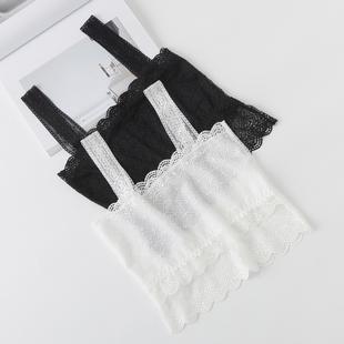 2件装吊带小背心女短款性感抹胸内衣