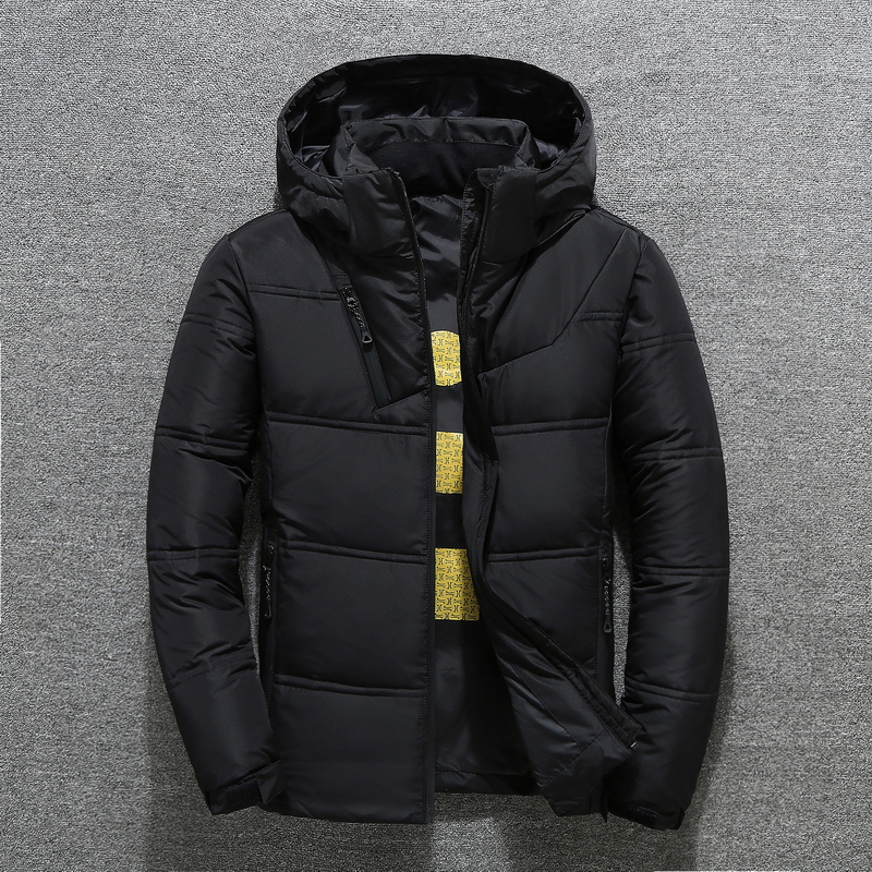 吉普盾冬季男士羽绒服韩版中短款外套帅气男款加厚反季2018新款潮
