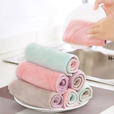 【蓓利佳】家用洗碗抹布不掉毛强吸水