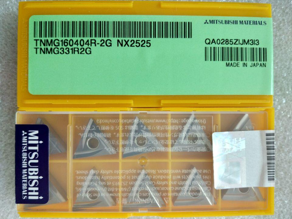 三菱TNMG160404R-2G NX2525 90度刀片 如有需要电话联系