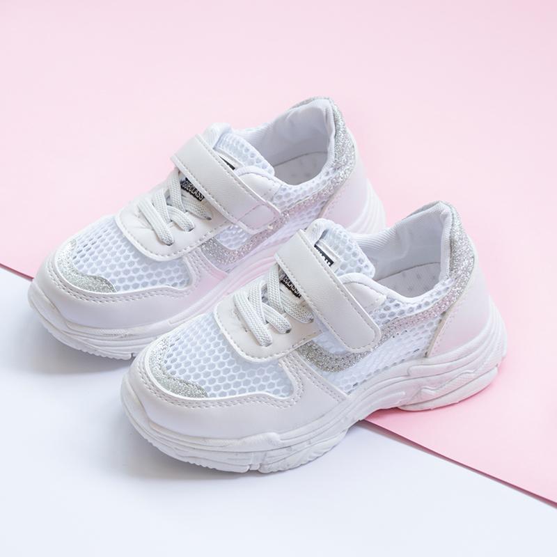 女童鞋子2018新款夏季 儿童透气网鞋男童网面运动鞋宝宝休闲童鞋