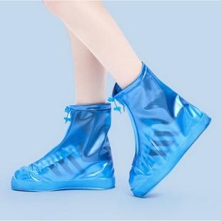 雨鞋套户外便携式水鞋套防滑加厚底防雨防水