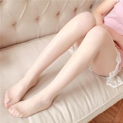 超薄透明浅肤色丝袜肉色隐形袜子防勾丝女夏季性感显瘦打底连裤袜