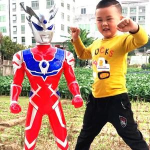 男孩儿童玩具超大号跨越奥特曼超人玩具迪迦泰罗变身器变形套装
