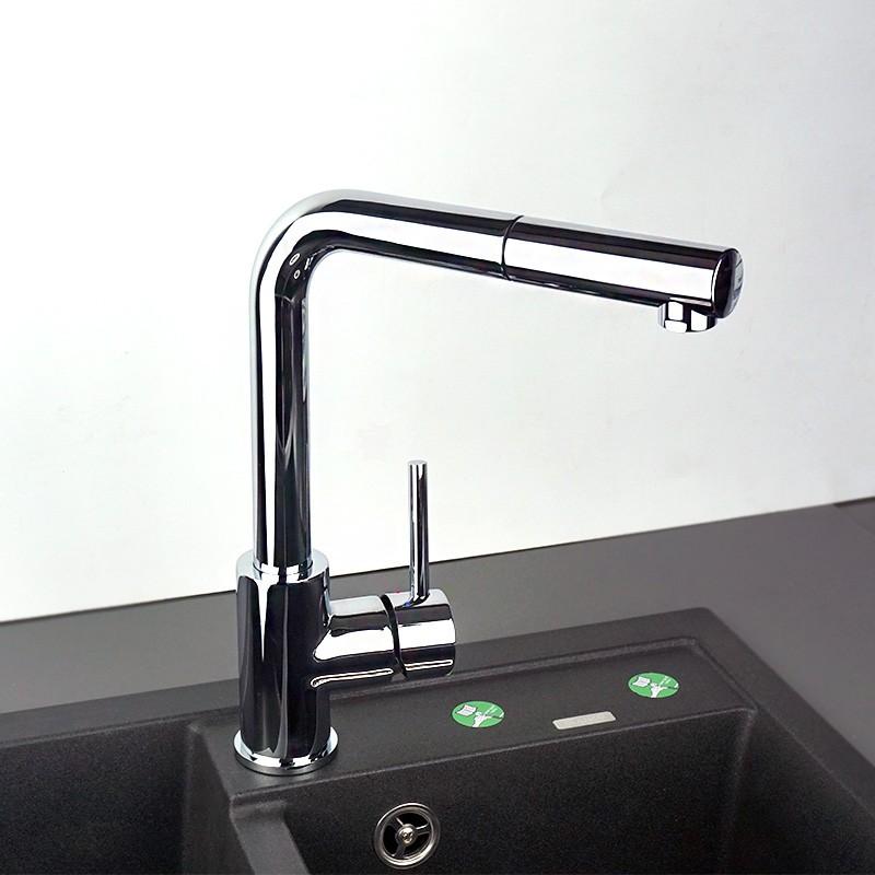 BLANCO 铂浪高 Mila-S系列 519810 抽拉式冷热厨房水龙头 优惠码折后¥637.51