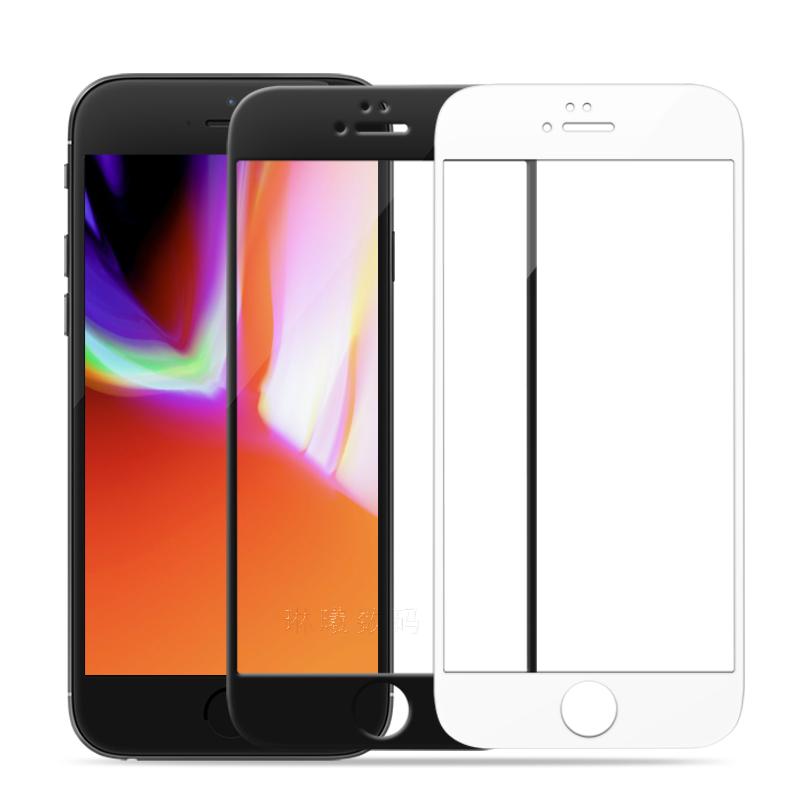 苹果7plus钢化膜8全屏覆盖高清防爆膜ipone6splus手机屏保6保护膜