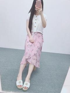 M50 мисс юбка лето женщины свежий женщина длина цветочный шифон один чип песчаный пляж платье