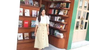 自制奶黃包甜美小清新裙子 連衣裙2019新款 夏法式仙女
