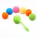 久丽厨房家用不粘锅无划痕彩色清洁球