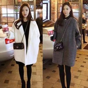 2018 mùa thu mới của Hàn Quốc phiên bản của phụ nữ lỏng lẻo của dày áo len nữ Slim kích thước lớn dài áo len