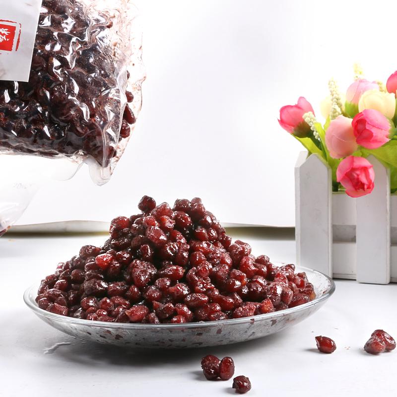 徵唐糖纳豆奶茶红豆 糖纳红豆奶茶原料红豆蜜蜜豆甜品烘焙1kg包邮