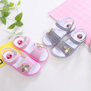 【史!低】女童凉鞋夏季韩版公主鞋