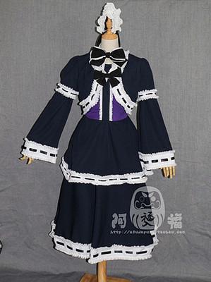 taobao agent 【Afu】Death note mihai sand maid outfit set cos costume